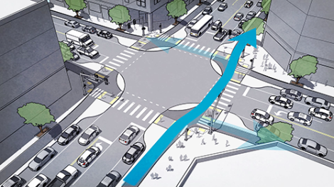 Falbo: Protected Intersections for Bicyclists Concept Still