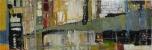 Anna Macrae, Main Street (2016). Oil on canvas, 20x60 in.