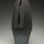 Large Object 1, Stoneware, 22x8x8