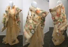 Wallflower Coat - Organza and Flowers