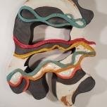 Parks Series #5, Ceramic, 17 x 13 x 2
