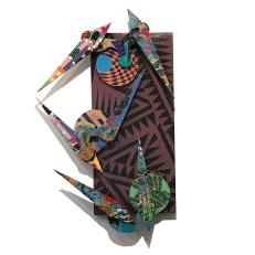 David Traylor, Zanni-Purple Rectangle One, acrylic on board, 22x10x3, 2020