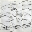 Amanda C. Sweet, Ebb Tide No. 2, Conte crayon and hinging tissue on paper, 14x8.25 inches, 2020, $125, contact; amanda.c.sweet@gmail.com