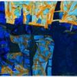 Anne Marie Nequette, L'acqua alta #1, acrylic, 19x19, 2014, $200 ready to hang, contact: amnequette@gmail.com