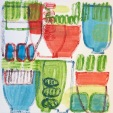 Becky Street, Potting Shed 5, Monotype, 12x12, 2020, $200 contact: streetbecky55@gmail.com